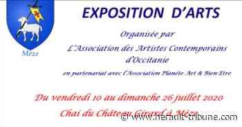MEZE - Exposition d'arts au chai du Château Girard du 10 au 26 juillet 2020 - herault-tribune.com