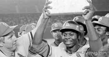Lou Brock, Baseball Hall of Famer Known for Stealing Bases, Dies at 81