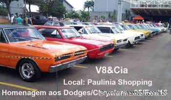 Encontro Mensal do V8&Cia - Paulinia, SP - maxicar.com.br