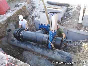 Ultima fase di lavori sull'impianto reflui di Medio Chiampo. Che abbatterà gli odori - L'Eco Vicentino