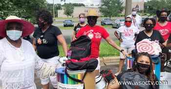 Delta Sigma Theta donates 9 School Tools supplies - WSOC Charlotte