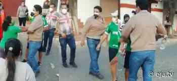 Lazarte fue sacado a empujones del Comité Cívico de Camiri - eju.tv
