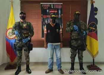 Ejército rescató a un transportador secuestrado en Puerto Guzmán, Putumayo [VIDEO] - Diario del Sur