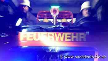 Brand von Schreinerei: Mittlerer sechsstelliger Sachschaden - Süddeutsche Zeitung
