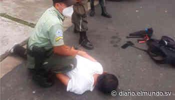 Presunto ladrón de celulares es capturado en Antiguo Cuscatlán - Diario El Mundo