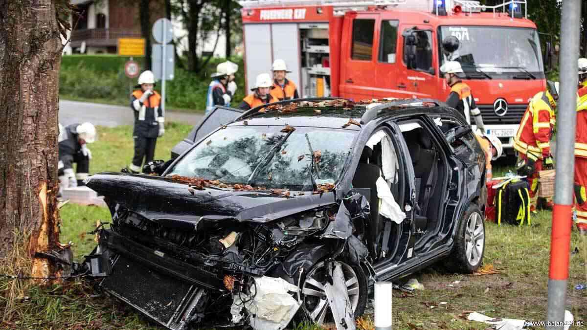 Schwerer Unfall bei Tittmoning - Zwei Hubschrauber im Einsatz - bgland24.de