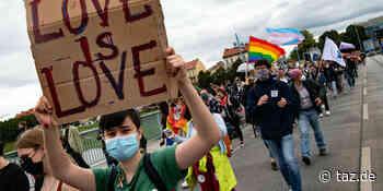 Deutsch-polnische Pride in Frankfurt: Vielfalt an der Oder - taz.de
