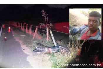 Ecoporanga: Jovem de 18 anos morre em acidente de moto - Colatina em Ação