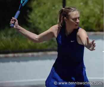 Maria Sharapova bietet Online-Tennistraining an - Tennis World DE