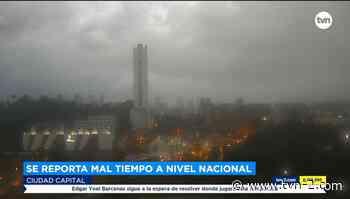 Nacionales Frente frío ocasiona aguaceros en Ciudad de Panamá, David y Bugaba - TVN Noticias