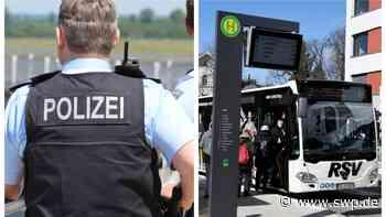 Polizei Pfullingen: Laiblinsplatz: Linienbus beschädigt und Fahrer angegriffen - SWP