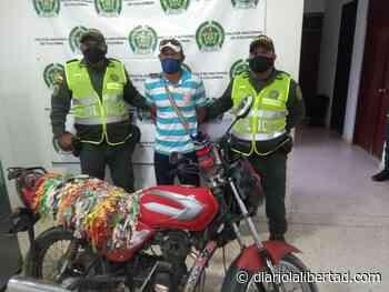 Recuperadas dos motocicletas hurtadas y un capturado en Cerro San Antonio y el Difícil - Diario La Libertad