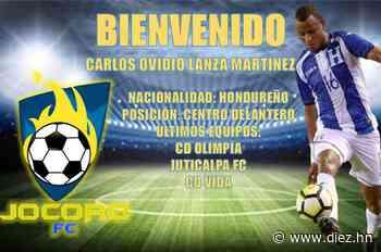 Ovidio Lanza es fichado por el Jocoro de la Primera División de El Salvador - Diez.hn