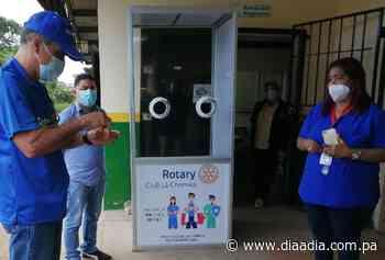 Instalan cabina de hisopado para muestras de COVID-19 en Lídice - Día a día