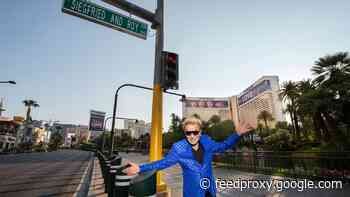 Mirage names a street for Siegfried and Roy