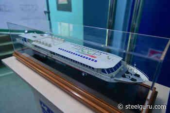 LNG Powered Passenger Ship Chaika Launched at Zelenodolsk Shipyard - SteelGuru