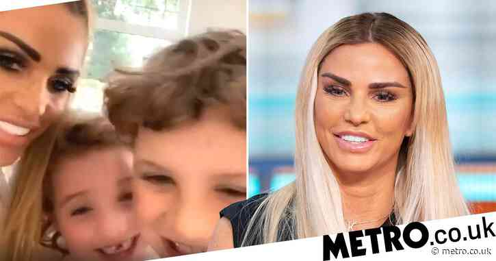 Katie Price Shares Adorable Video Of Kids Jett And Bunny As She Recovers From Foot Injuries Celebrity News Newslocker
