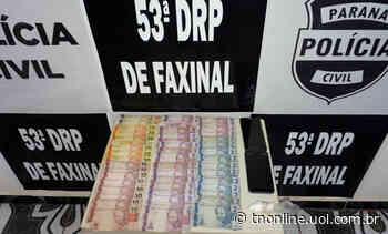 """Duas pessoas envolvidas no """"disk drogas"""" são presas em Faxinal - TNOnline"""