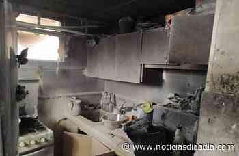 Incendio en el cuarto piso de un edificio en Silvania,... - Noticias Día a Día