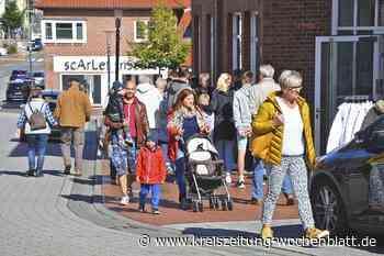 Zusätzlicher Verkaufstag lockte Besucher in Harsefeld an: Im Shoppingrausch - Harsefeld - Kreiszeitung Wochenblatt