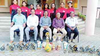 Excel in throwball, volleyball - Star of Mysore