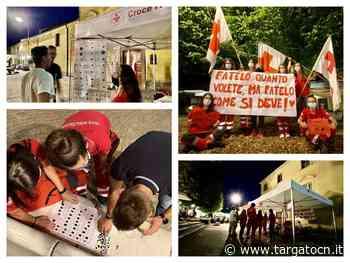 I Giovani della Croce rossa in piazza, a Racconigi, per una serata di sensibilizzazione sulle malattie sessualmente trasmissibili (FOTO) - TargatoCn.it