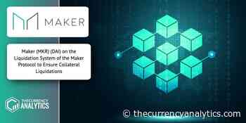 Maker (MKR) (DAI) on the Liquidation System of the Maker Protocol to Ensure Collateral Liquidations - The Cryptocurrency Analytics