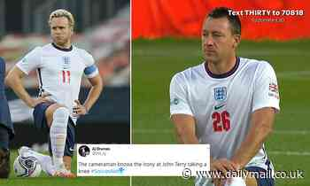 Soccer Aid: Twitter reacts over 'irony' of John Terry taking a knee to support BLM - Daily Mail
