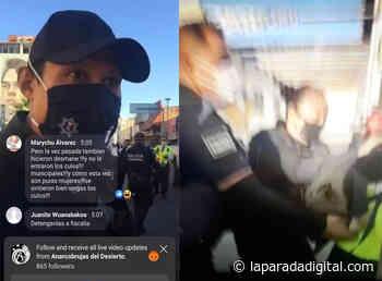 'Armando Cabada represor. La chota no me cuida, me viola', gritan tras detención de mujeres - laparadadigital