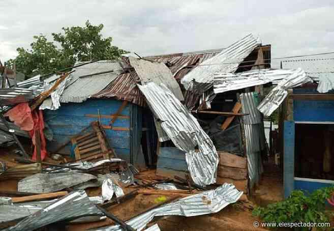 500 viviendas afectadas por vendaval en Puerto Libertador, Córdoba - El Espectador