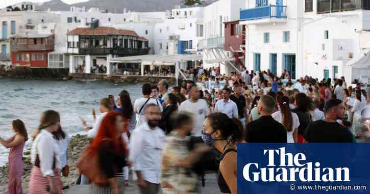 Coronavirus: seven Greek islands to be removed from England's safe list