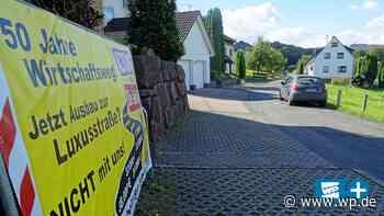 Straßenausbau in Netphen macht viel Ärger - Westfalenpost