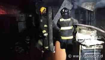 Incendio dejó tres fallecidos esta mañana en Angol - Malleco7