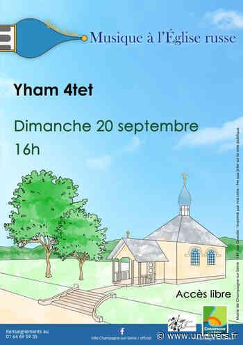 Concert à l'Église russe dimanche 20 septembre 2020 - Unidivers