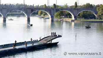 Via di fuga per i cittadini di Peschiera, Esercito testa ponte sul Mincio - VeronaSera