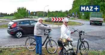 Marwitz: Kreisverkehr wird 2021 zur Baustelle - Märkische Allgemeine Zeitung