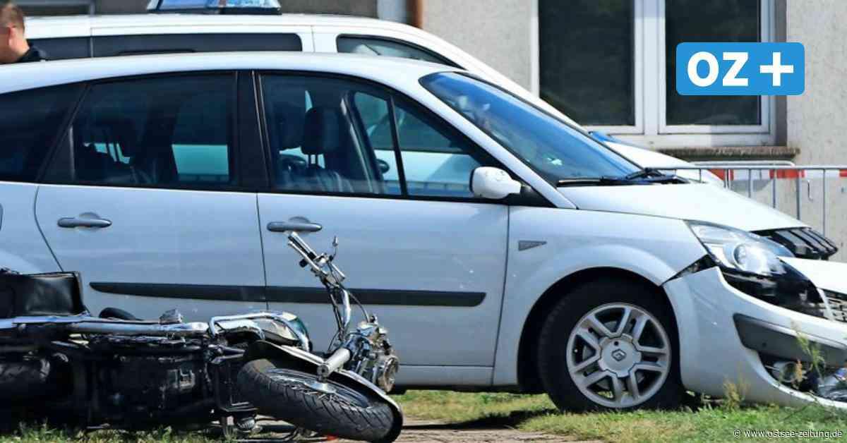 Motorradfahrer bei Unfall in Zinnowitz lebensbedrohlich verletzt - Ostsee Zeitung