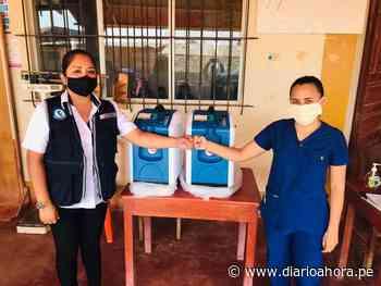 Entregan concentradores de oxígeno en Yurimaguas - DIARIO AHORA