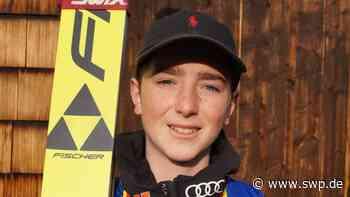 Skispringen: Ben Bayer vom VfL Pfullingen fliegt weit beim Deutschlandpokal in Berchtesgaden und zieht nach Furtwangen - SWP