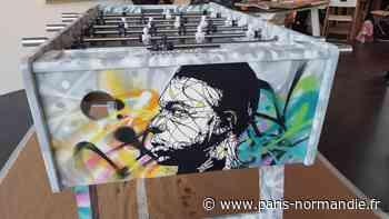 Le Street Arthon dévoile ses œuvres prêtes à être vendues au bénéfice des enfants hospitalisés - paris-normandie.fr