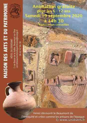 Atelier poterie 6-12 ans samedi 19 septembre 2020 - unidivers.fr