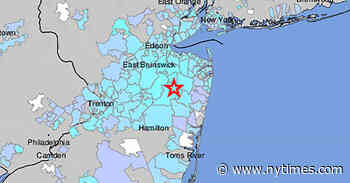 Small Earthquake Rattles New Jersey