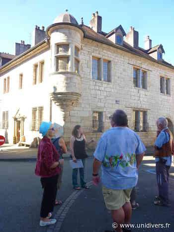 Découvrez le coeur historique de Baume-les-Dames samedi 19 septembre 2020 - Unidivers