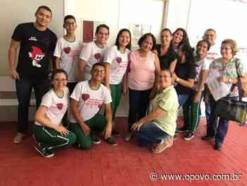 Projeto de estudantes de Reriutaba incentiva doação de medula óssea - opovo.com.br