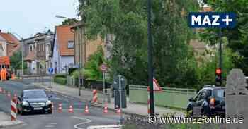 Pritzwalk: Baustelle vor dem Kulturhaus - Märkische Allgemeine Zeitung