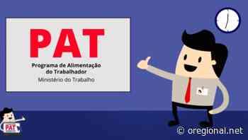 VAGAS DO PAT Jaguariuna 09/09/2020- 4ª feira. ‹ O Regional - O Regional