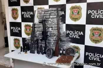 Polícia Civil apreende armas e drogas em Elias Fausto - Jornal O Semanário