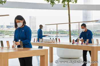 Apple creates face masks for its employees