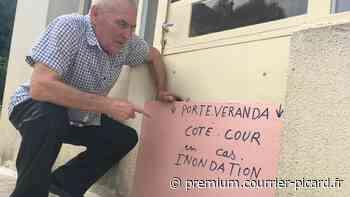 À Noyon et Guiscard, premiers diagnostics anti-inondations dans les maisons - Courrier picard