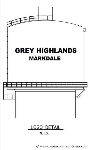 Grey Highlands approves contract to build new Markdale water tower - Owen Sound Sun Times